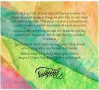 """""""Keha kiituseks"""" CD/album (sisekaas)"""