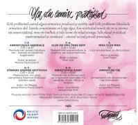"""""""Armastusega iseendale"""" CD/album (tagakaas)"""