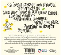 """""""Lapse rõõmuks"""" CD/album (tagakaas)"""