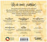 """""""Parim päev"""" CD/album (tagakaas)"""