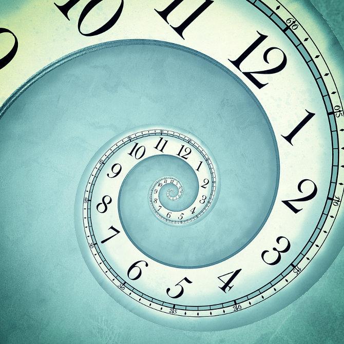 spiral clock-spiraalne kell